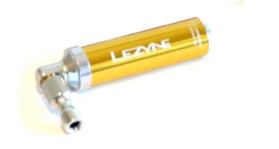 Lezyne Alloy Drive CO2 CO2-pump guld gul